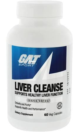 GAT LIVER CLEANSE, 60 CAPSULES .