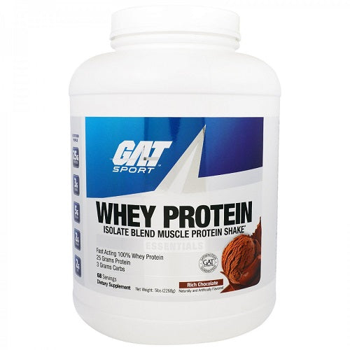 GAT, WHEY PROTEIN 5LBS