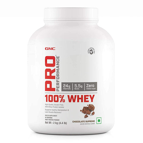 GNC PRO PERFORMANCE 100% WHEY PROTEIN 4.4 LBS