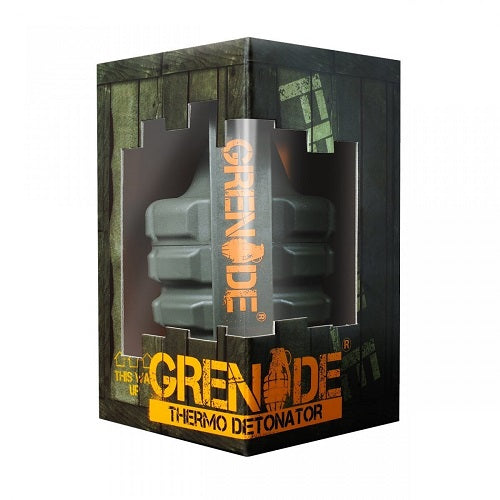 GRENADE THERMO DETONATOR EXTREME THERMOGENIC 100 CAPSULE (EXP 4/20)