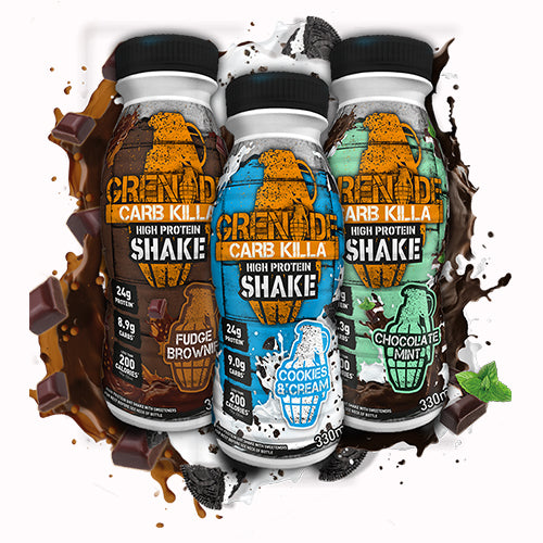 GRENADE CARB KILLA READY TO DRINK PROTEIN,PACK OF 8(330ML*8)
