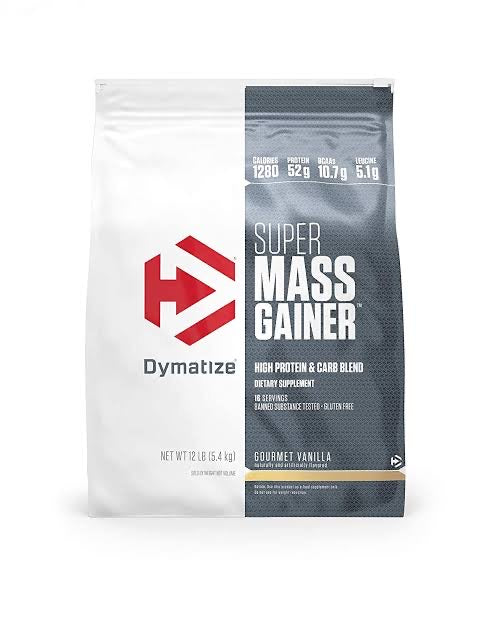 DYMATIZE SUPER MASS GAINER, 12 LBS.