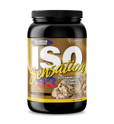 ULTIMATE NUTRITION ISO SENSATION 93, 2 LBS.