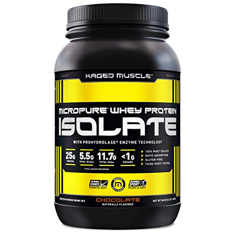 KAGED MUSCLE ISOLATE, 3LBS (42 SERVINGS).