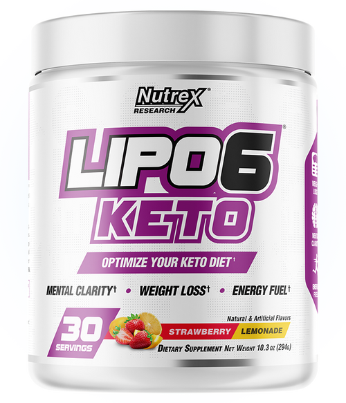 NUTREX LIPO 6 KETO , 30 SERVINGS