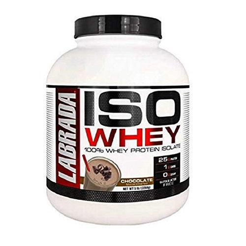 LABRADA ISO WHEY ,5 LBS(71 SERVINGS).(Made in USA version)