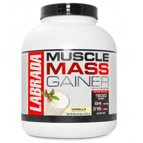 LABRADA LEAN MUSCLE MASS GAINER 6LBS.