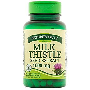 NATURE'S TRUTH MILK THISTLE, 100 CAPSULES