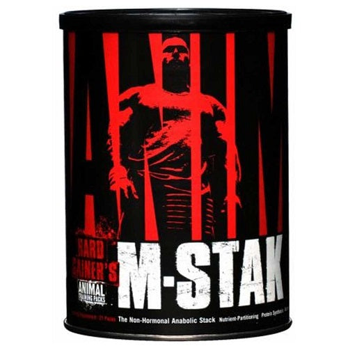UNIVERSAL NUTRITION ANIMAL M-STAK, 21 PACKS