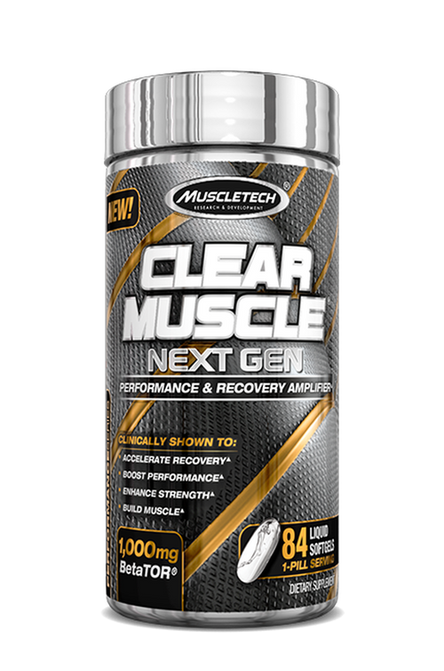 MUSCLETECH CLEAR MUSCLE NEXT GEN, 84 LIQUID SOFTGELS