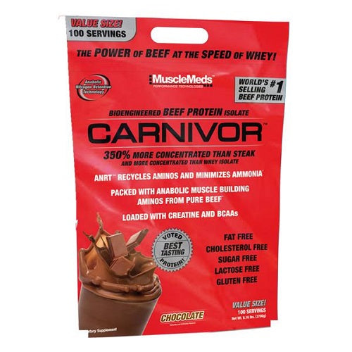 MUSCLEMEDS CARNIVOR PROTEIN ISOLATE, 8 LBS.