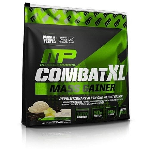 MUSCLEPHARM COMBATXL MASS GAINER, 12LBS
