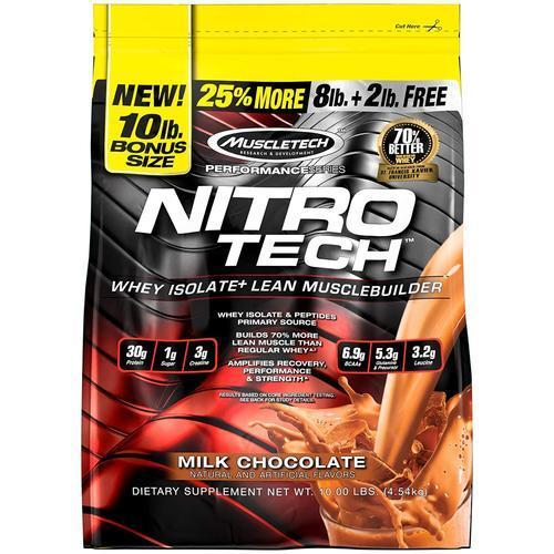 MUSCLETECH NITROTECH PERFORMANCE SERIES 10LBS