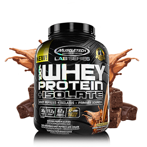 MUSCLETECH LAB SERIES 100% WHEY PROTEIN ISOLATE 5LBS
