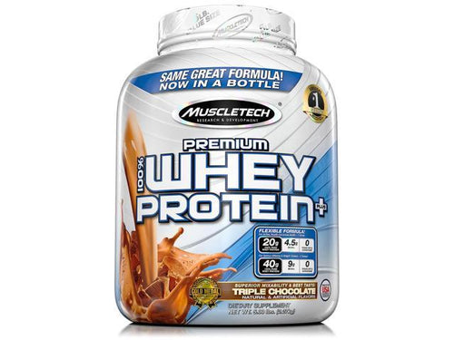 MUSCLETECH PREMIUM 100% WHEY PROTEIN+, 5lbs