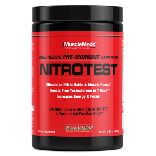 Musclemeds Nitrotest Pre-workout.(30 servings)