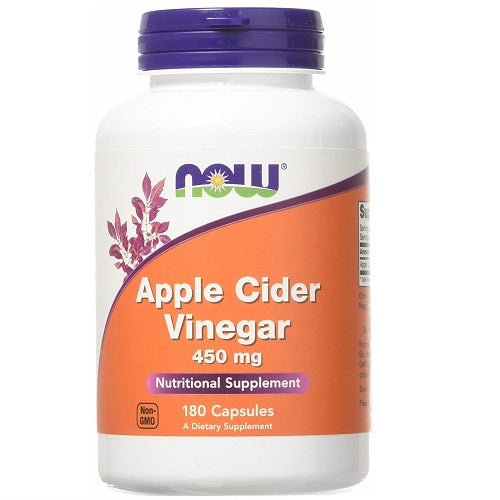 NOW APPLE CIDER VINEGAR 450 MG CAPSULES