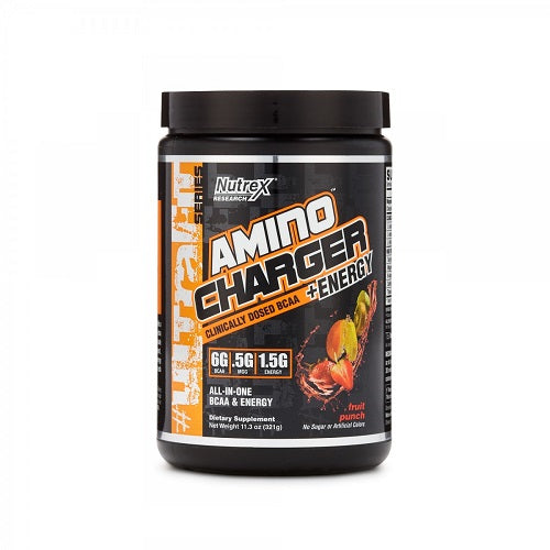 NUTREX AMINO CHARGER + ENERGY, 30 SERVINGS