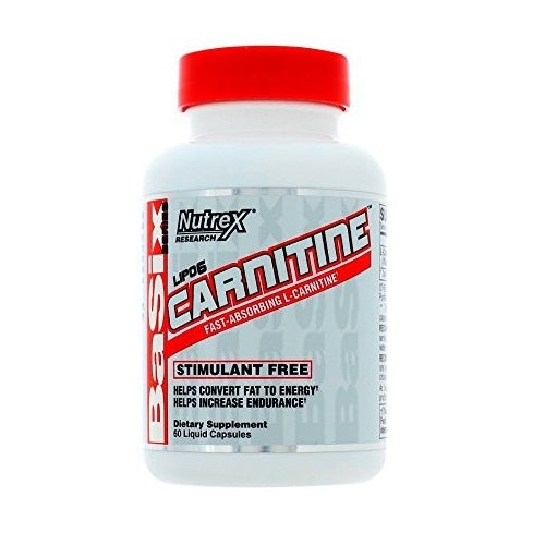 NUTREX RESEARCH LIPO-6 CARNITINE 120 LIQUID CAPSULES