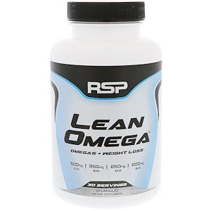 RSP, LEAN OMEGA 120 SOFTGELS.