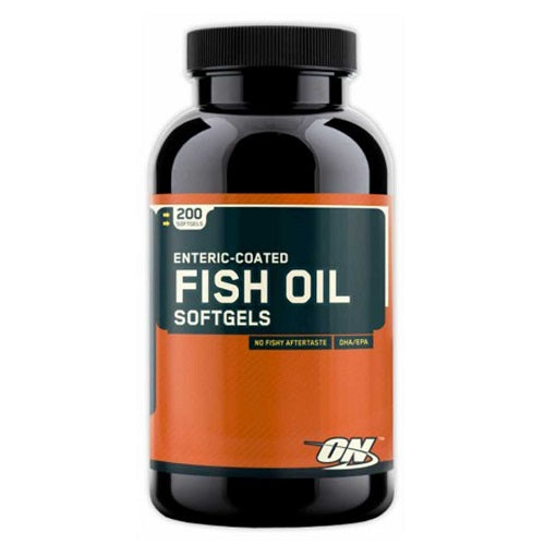 ON (OPTIMUM NUTRITION) FISH OIL, 200 SOFTGELS