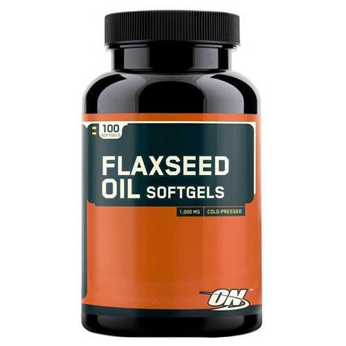 ON (OPTIMUM NUTRITION) FLAXSEED OIL, 100 SOFTGELS