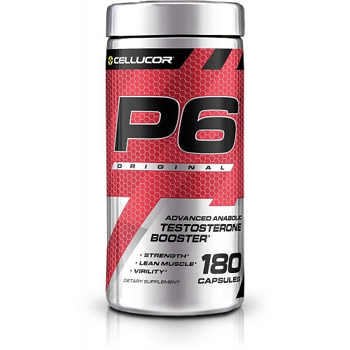 CELLUCOR TESTOSTERONE P6 ORIGINAL 120CAPSULES