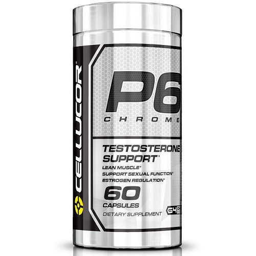 CELLUCOR TESTOSTERONE P6 CHROME 60 CAPSULES