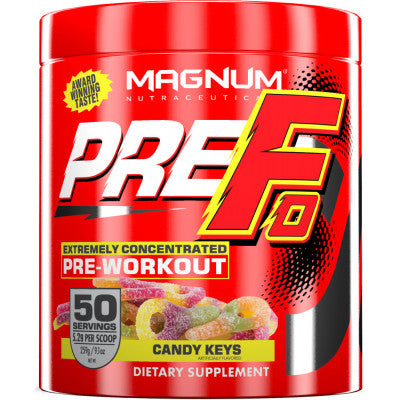 MAGNUM NEUTRACEUTICALS PRE-FO PRE-WORKOUT (50 Servings)