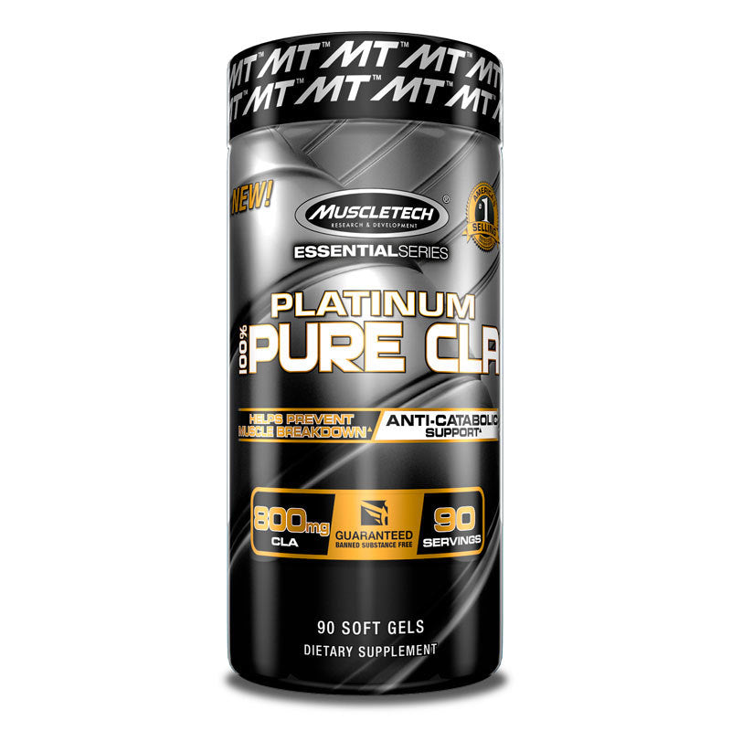 MUSCLETECH PLATINUM PURE CLA , 90 SOFTGELS
