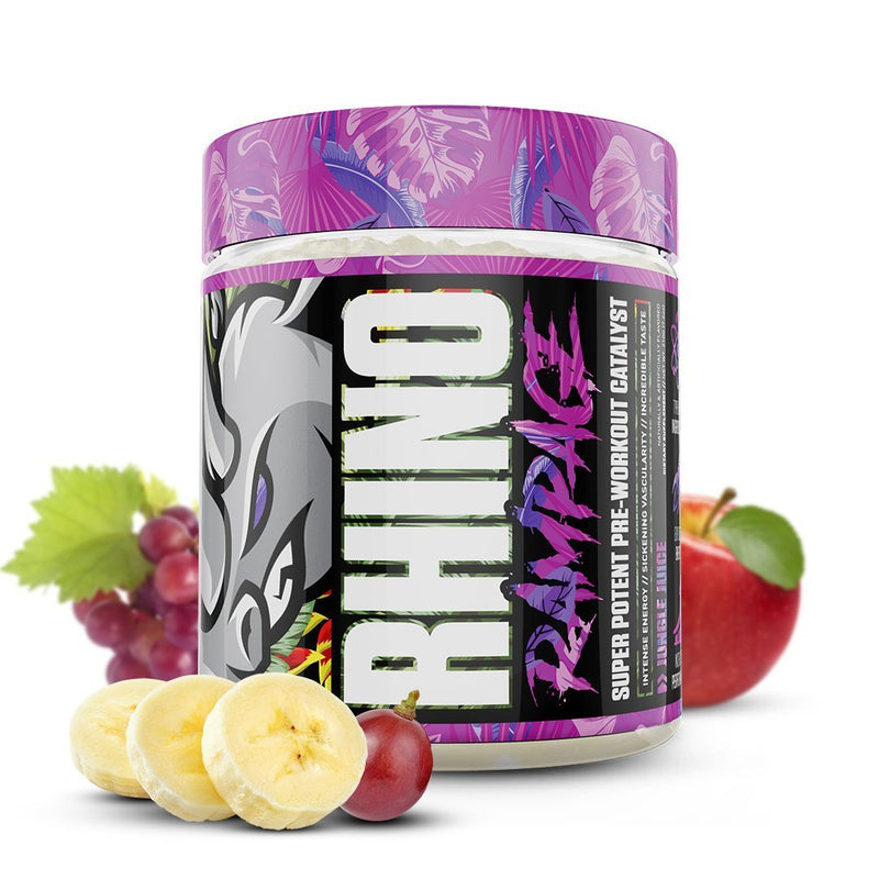 MUSCLESPORT RHINO RAMPAGE , 30 SERVINGS.