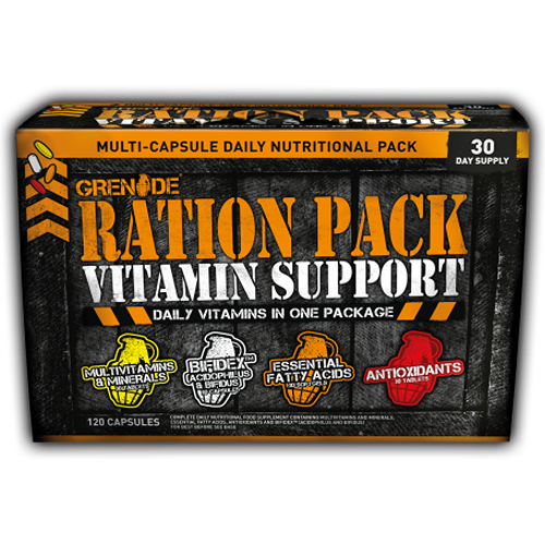 GRENADE RATION PACK, 120 CAPSULES