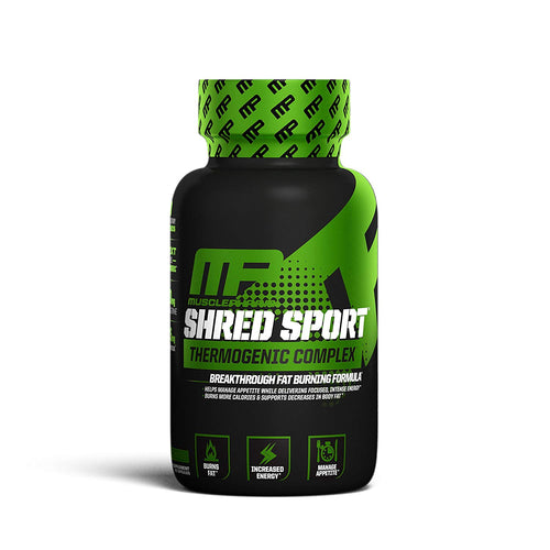 MUSCLE PHARM SHRED SPORT, 60 CAPSULES