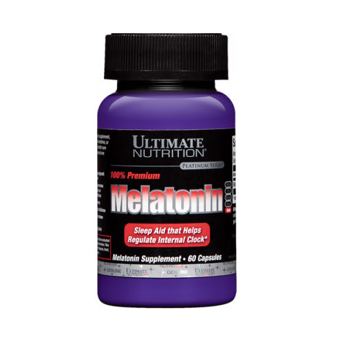 ULTIMATE NUTRITION MELATONIN 3MG , 60 CAPSULES