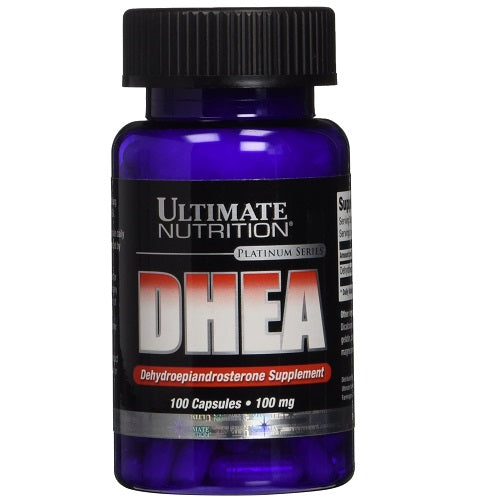 ULTIMATE NUTRITION, DHEA 100CAPS ,50MG.