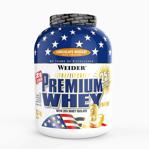 WEIDER ULTRAFILTRATED PREMIUM WHEY, 5.1 LBS