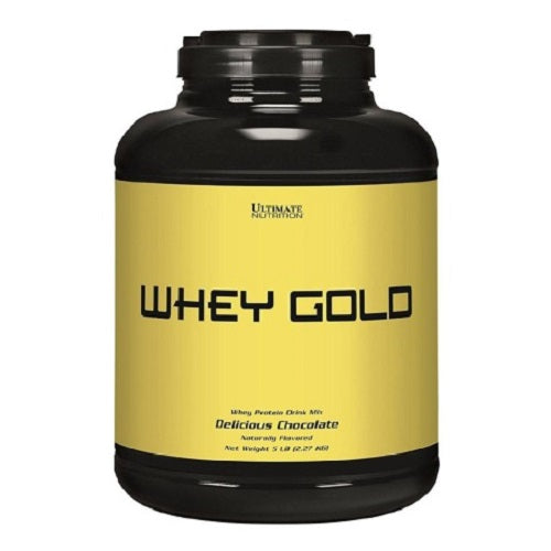ULTIMATE NUTRITION , WHEY GOLD 5LBS