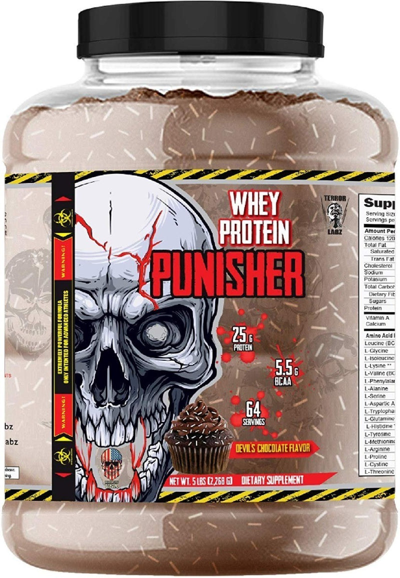 Terror Labz Whey Protein Punisher, 5 lbs.