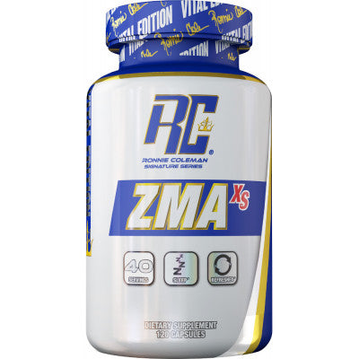 RONNIE COLEMAN ZMA XS, 120 CAPSULES.