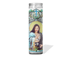 Selena Quintanilla Celebrity Prayer Candle