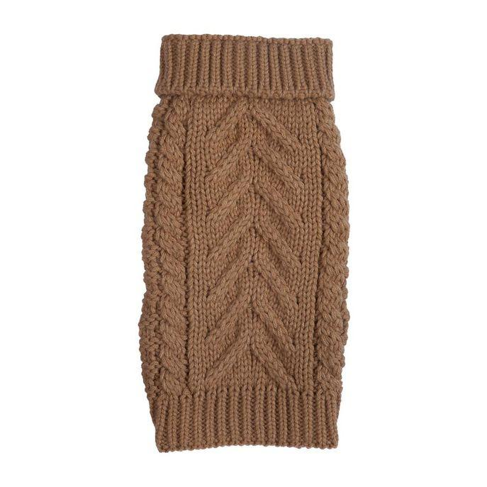 Camel Super Chunky Sweater 12