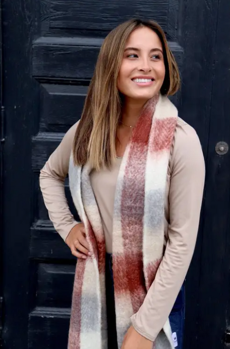 American Plaid Scarf