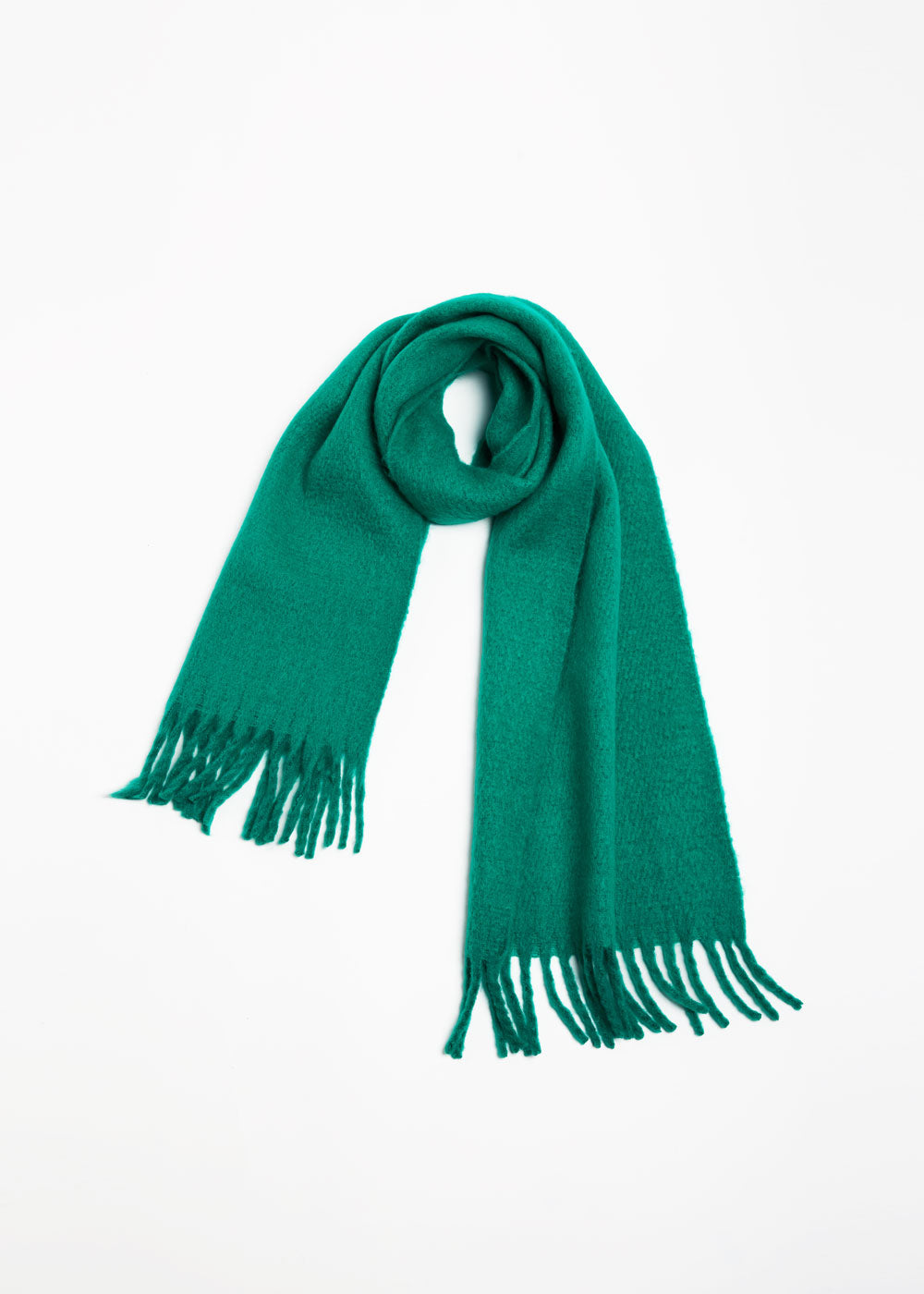 Solid Classic Scarf-GREEN