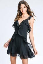 Strappy Ruffle Dress
