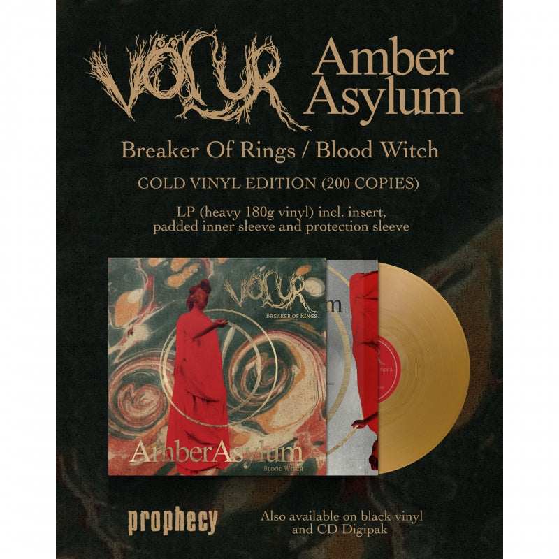"Völur - Breaker Of Rings / Blood Witch (Völur / Amber Asylum) 12"" Vinyl LP"