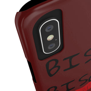 BISOU.BISOU Slim Phone Case / Oxblood