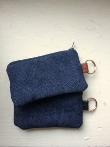 JET KEYCHAIN WALLET /DENIM