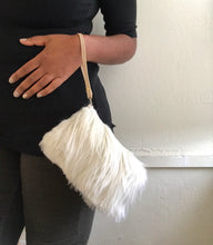 FAUX FUR MINI / CREAMY OFF WHITE