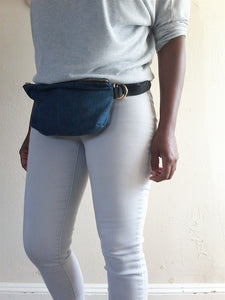 MAX BELT BAG- DENIM