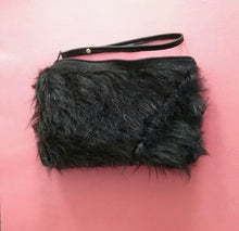 FAUX FUR MINI / BLACK